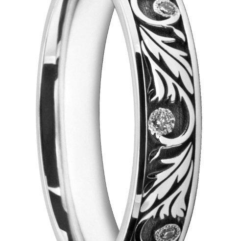 Artsy Ladies' Wedding Ring