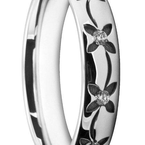 Modern Ladies' Wedding Ring