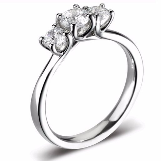 Beautiful Multi Stone Engagement Ring