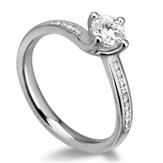 Bespoke Solitaire Engagement Ring
