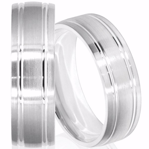 Affordable  Mens' Wedding Rings