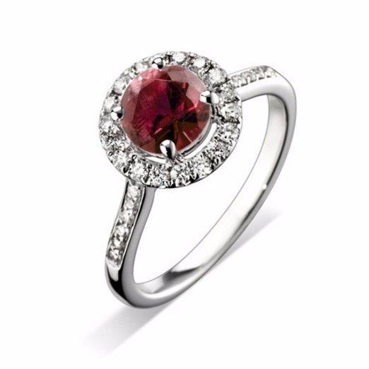 Stunning Halo Engagement Ring