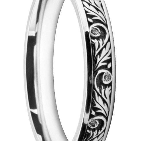 Unique Ladies' Wedding Ring