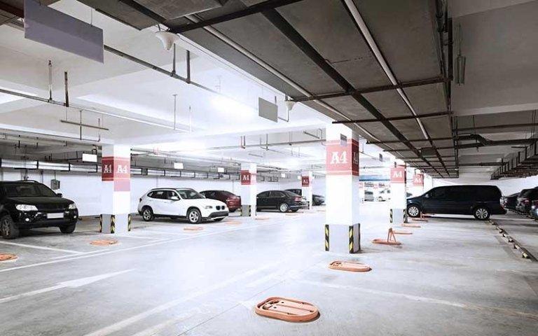 delimitatori parcheggio