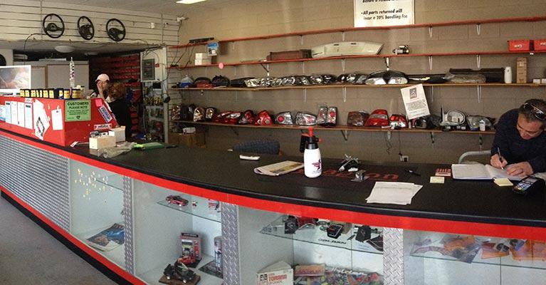 CJ Spares and Repairs Showroom