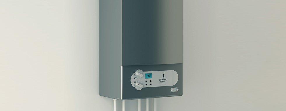 A domestic boiler
