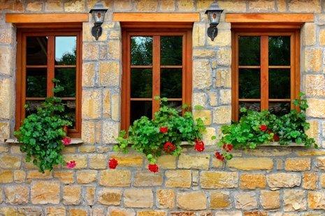 finestre su misura in legno
