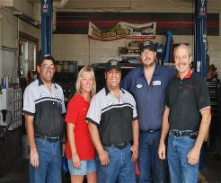 Auto repair staff in La Junta, CO