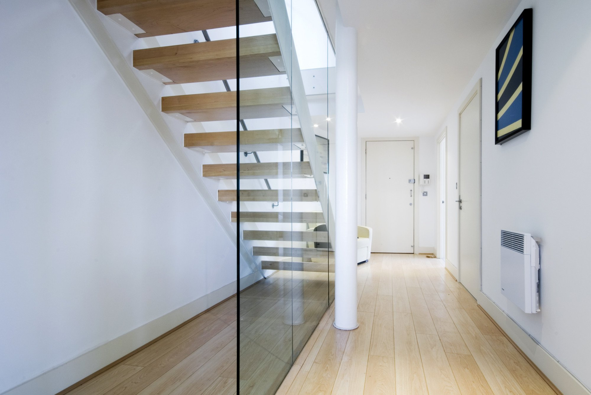 Bespoke glass balustrade