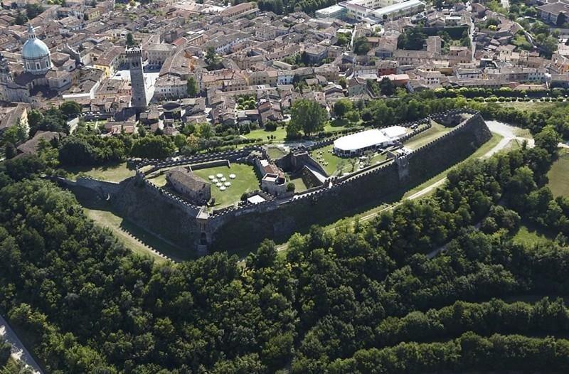La Rocca vista dall'alto