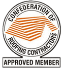 Confederation of roofing contractors icon
