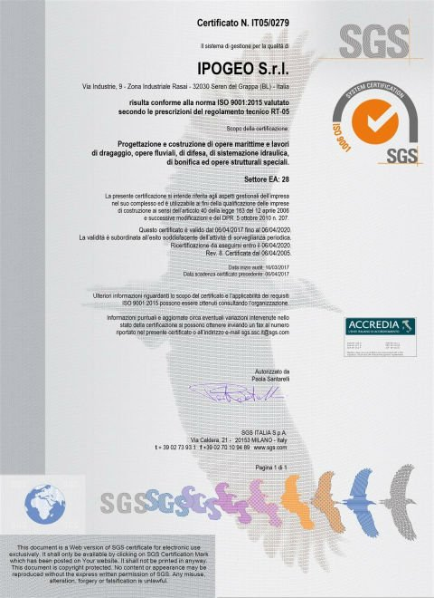 certificato Ipogeo