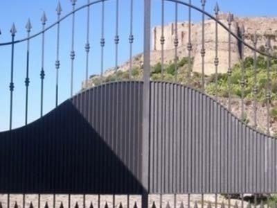 cancello ingresso auto