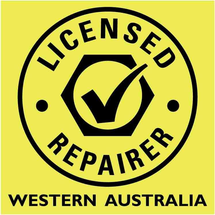 western australia licensed repairer