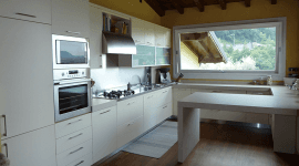Cucina in rovere sbiancato