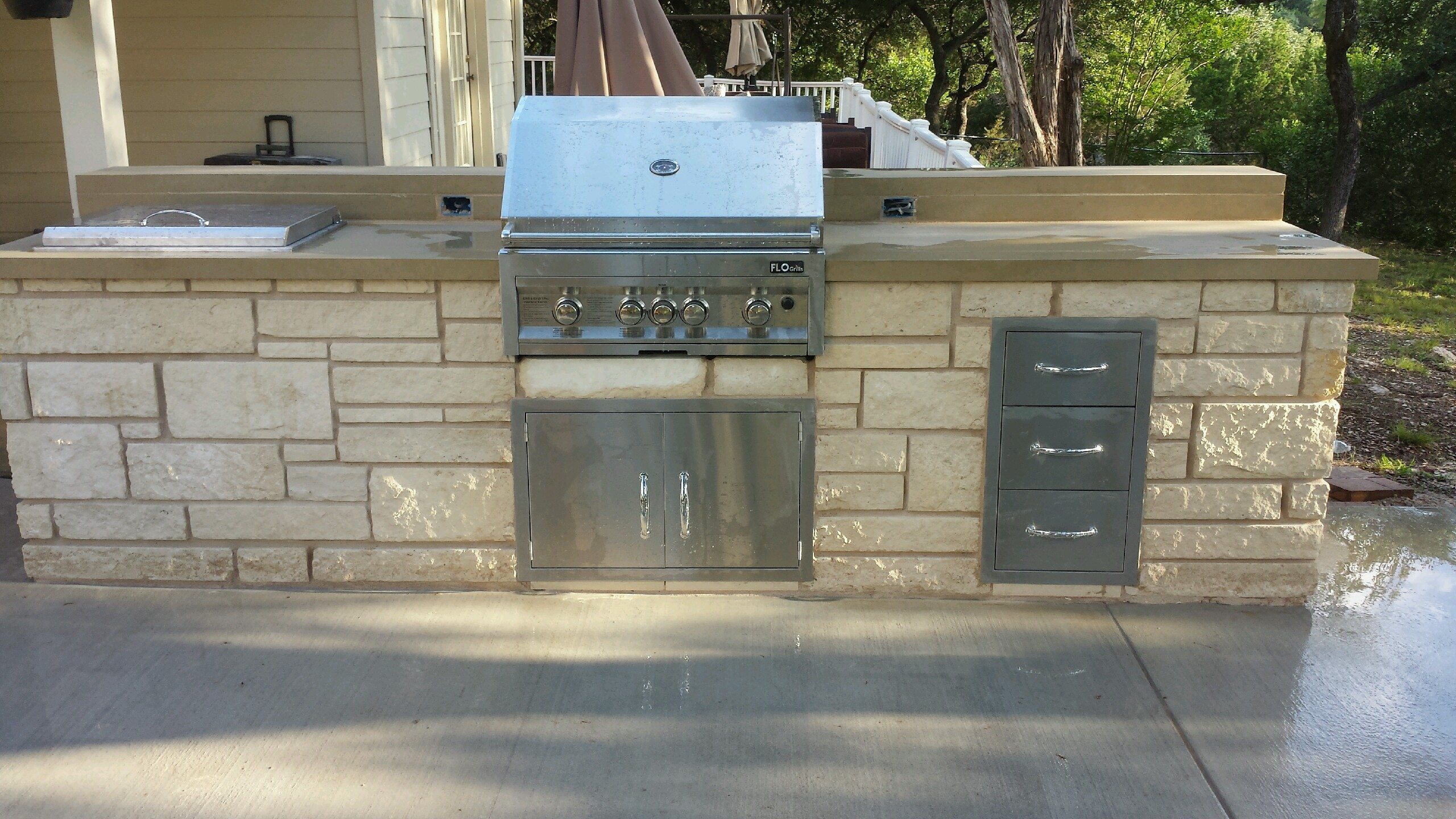 outdoor kitchens jc stoneworks georgetown tx