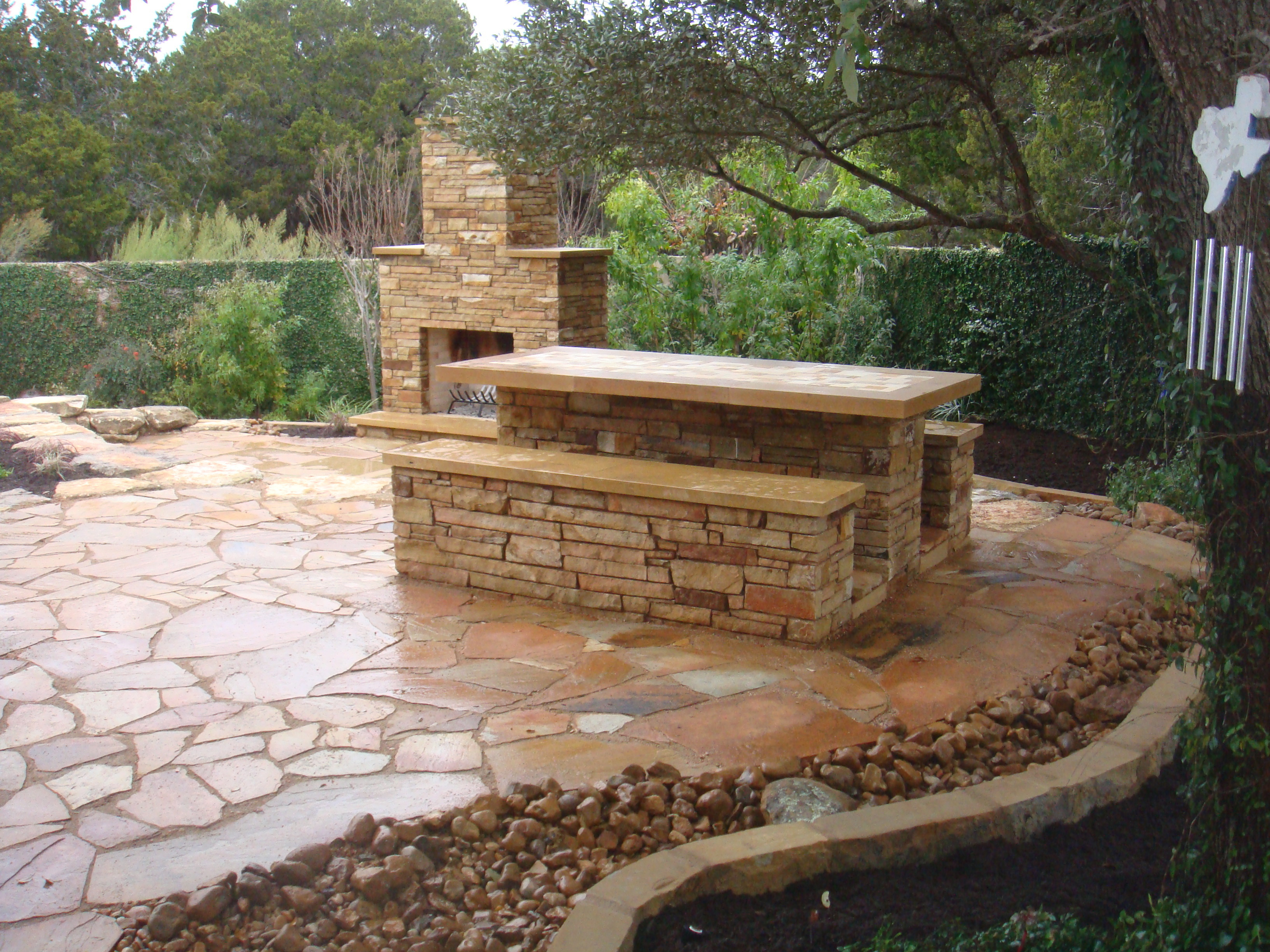 Custom Masonry Design Installation Georgetown Tx Jc Stoneworks