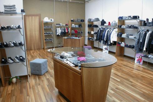 negozio moda bambino