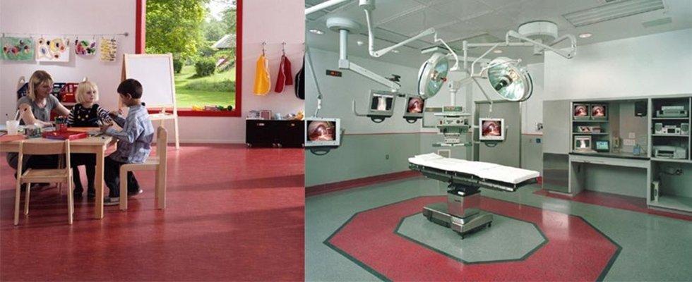pavimentazioni per strutture sanitarie