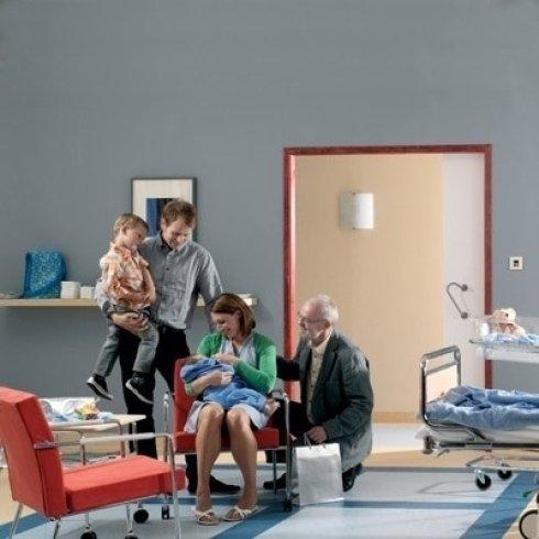 pavimentazione per sala d'attesa
