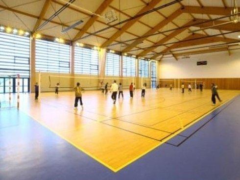 pavimento per campo da pallavolo