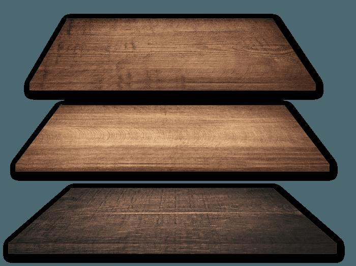 wood flooring layers
