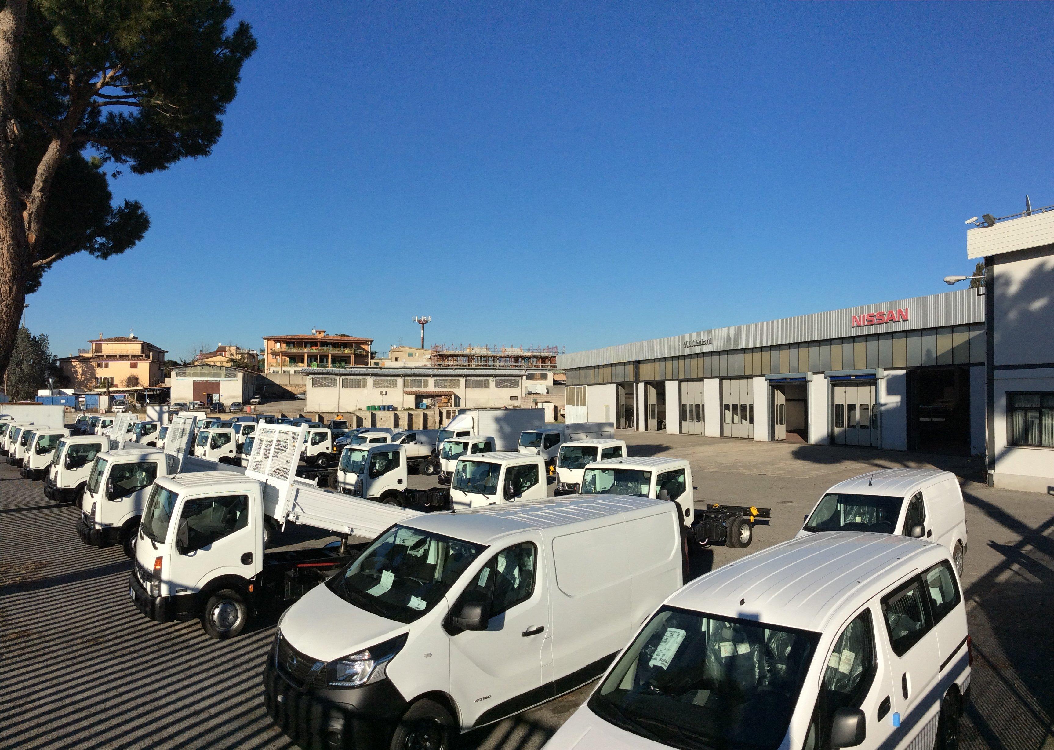 Parcheggio veicoli commerciali