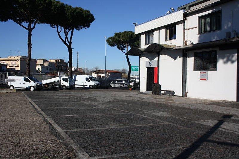 Esterno della azienda Veicoli Industriali Mattoni srl a Roma