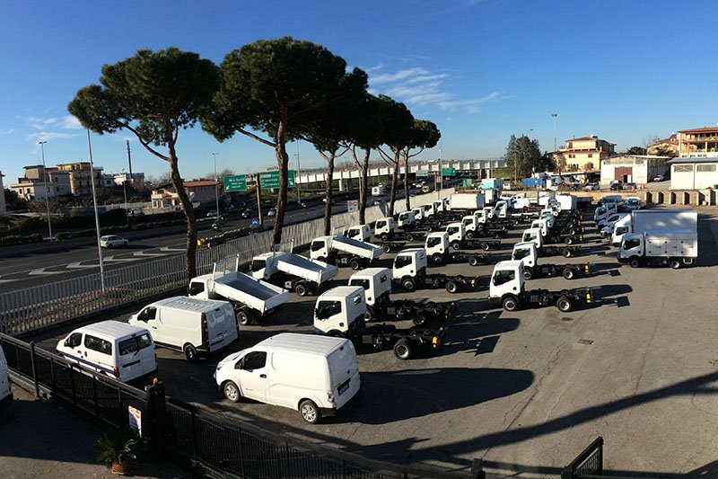 Parco Camion e Veicoli Industriali a Roma
