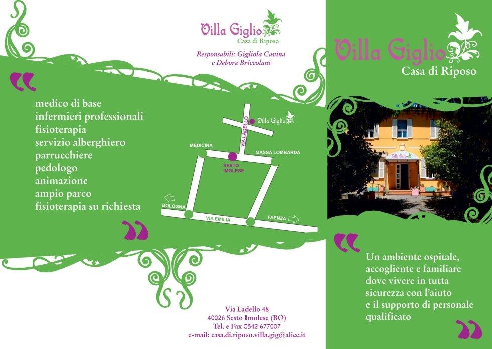 Villa giglio Sesto imolese Bologna