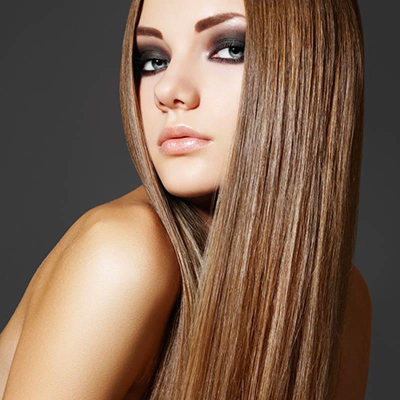 hairmoves hair model straight