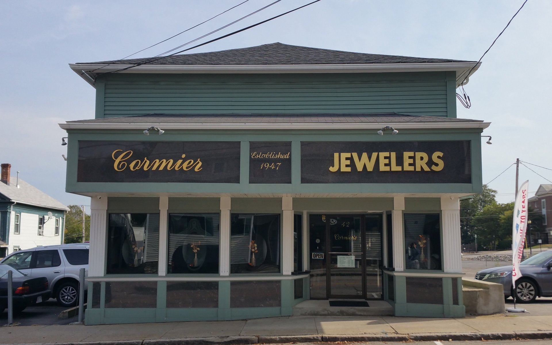 Cormier Jewelers, 42 Central Street in Soutbridge