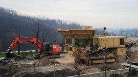 lavori stradali, mezzi edili, macchinari edili
