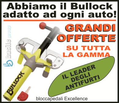 offerta bullock, antifurto auto, antifurti auto