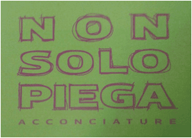 NON SOLO PIEGA - LOGO
