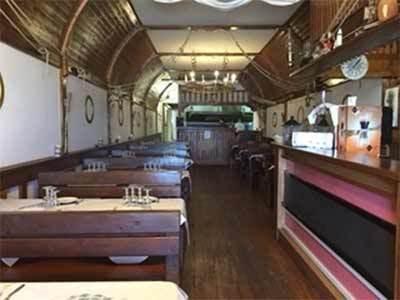 vista interna ristorante