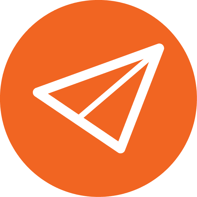 icona aereo di carta