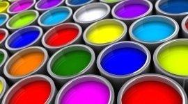 gamma di colori di vernici