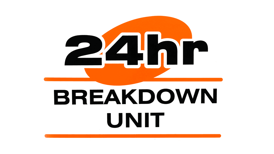 24 Hour breakdown unit