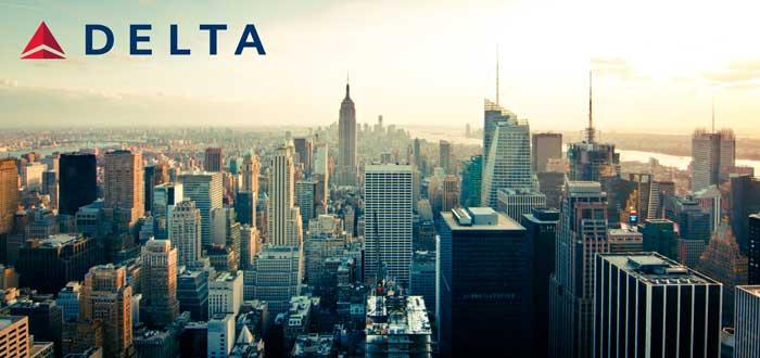 デルタ航空で行くニューヨーク行き