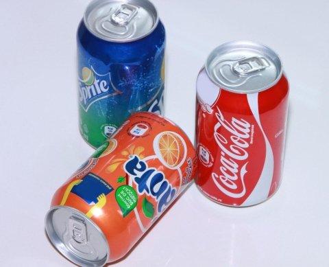 Fanta, Sprite, Coca Cola