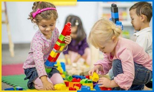 Children in the preschool
