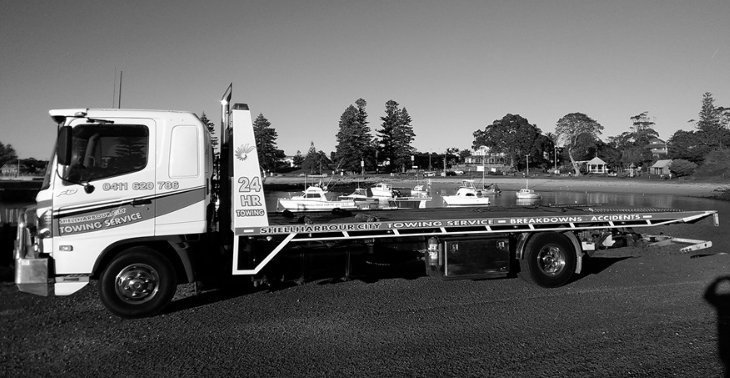 Shellharbour towing