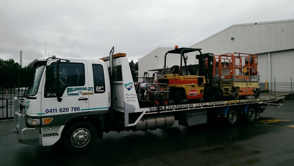 towing industrial equipment