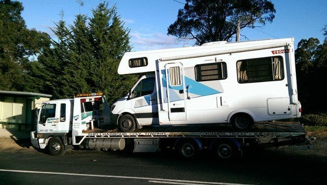 towing a trailer home