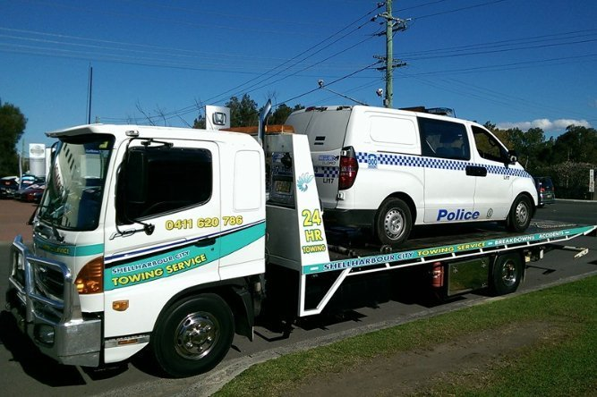 towing service vehicle