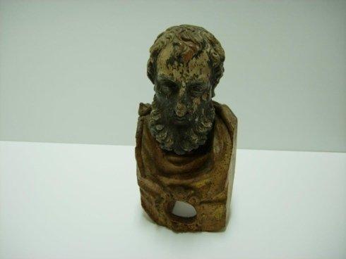 restauro statua lignea