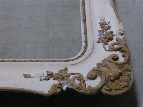 restauro di dipinti, vetri museali, specchiere su misura