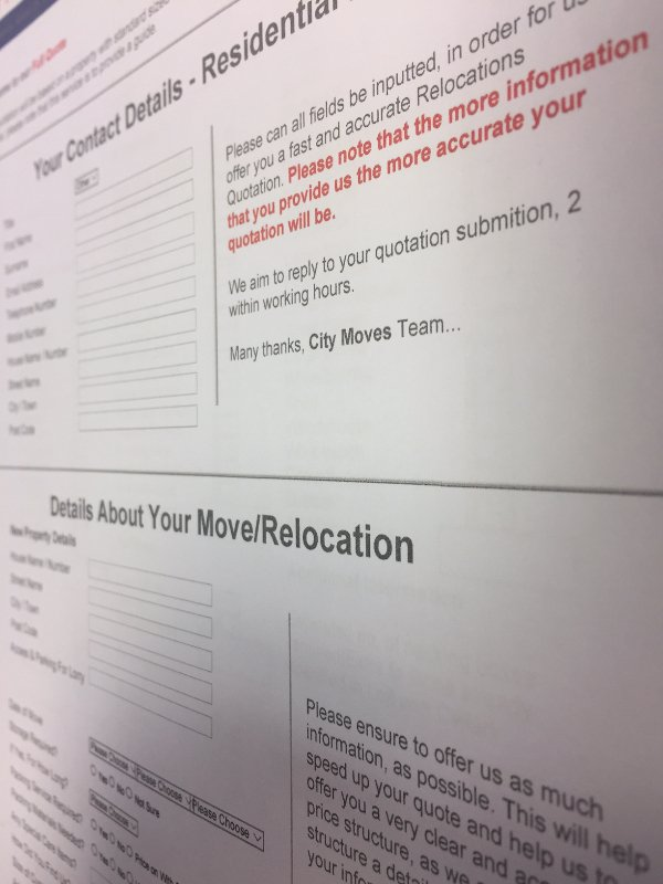 request a call back city moves