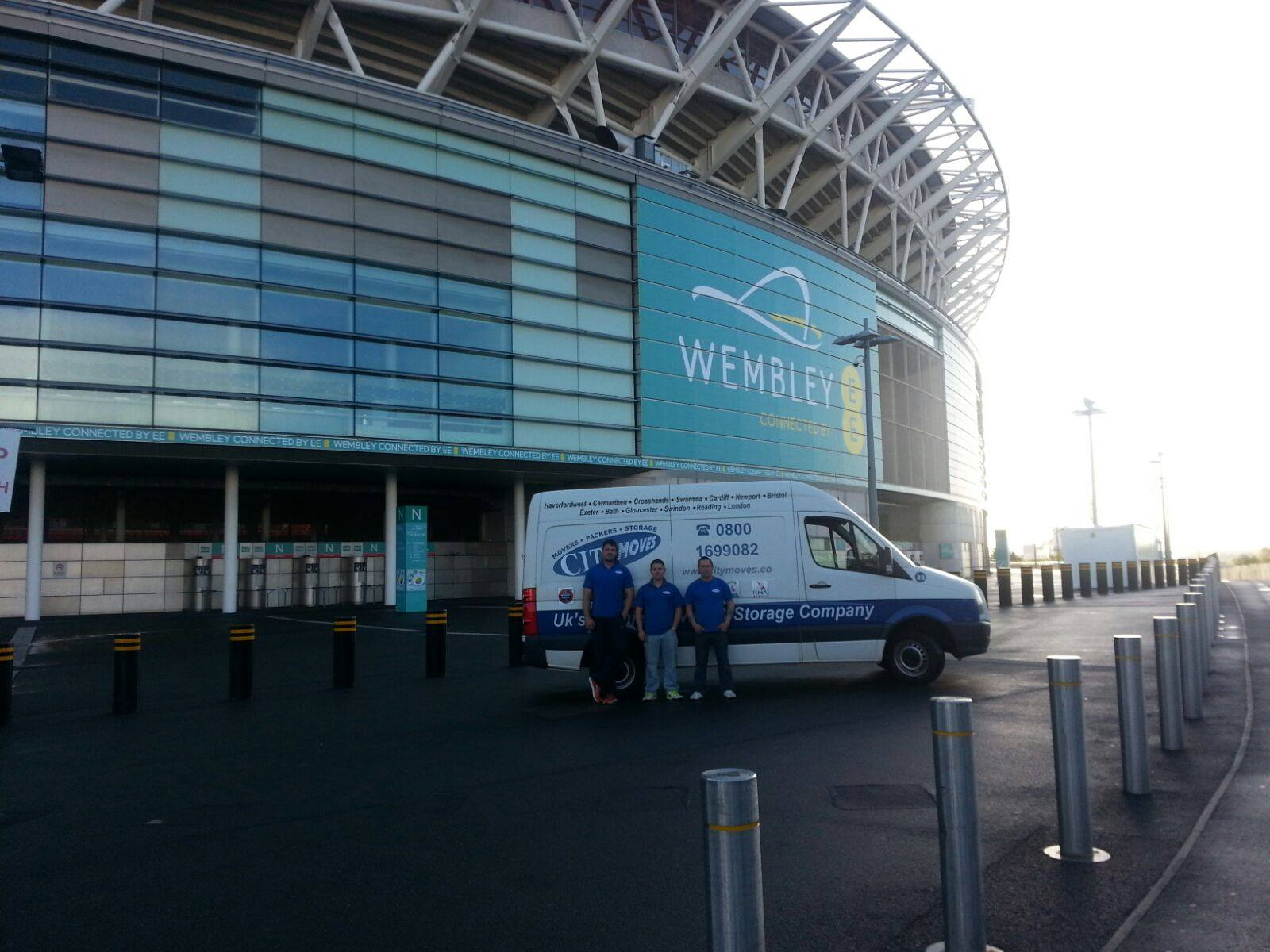 City Moves Removals in Wembley Stadium